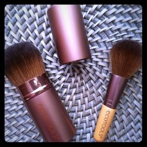 Ecotools Retractable Kabuki & Mini Bamboo Brush